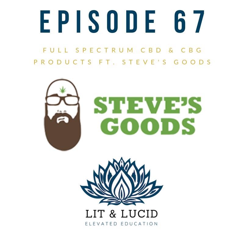 CBD CBG Steve's Goods