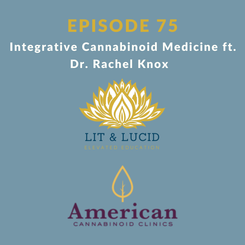 Integrative Cannabinoid Medicine Dr. Rachel Knox
