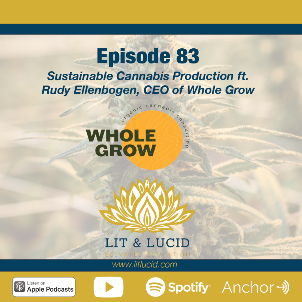 Sustainable Cannabis Production Rudy Ellenbogen