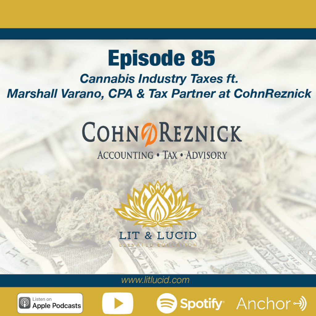 Cannabis Industry Taxes Marshall Varano