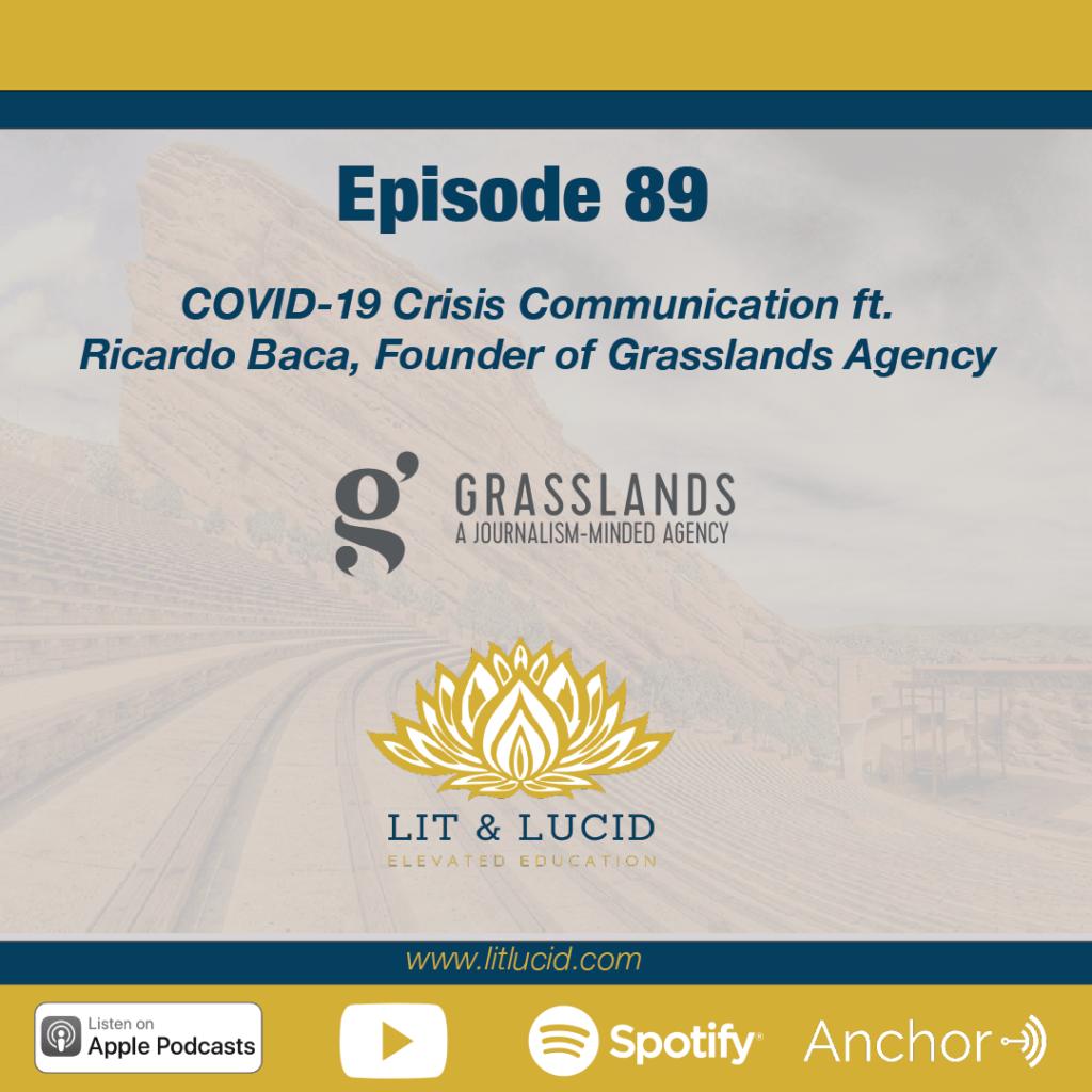 COVID Crisis Communication Ricardo Baca